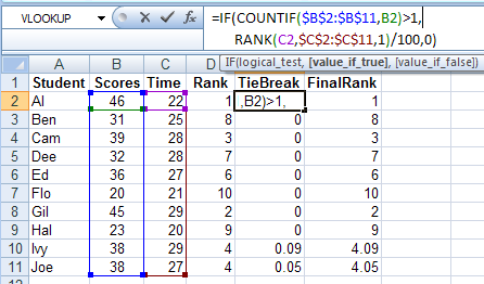 how to get lower quartile in excel