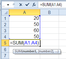 function excel $