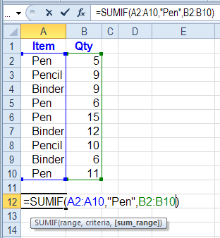 How to Sum in Excel Examples and Videos