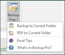 make a quick backup