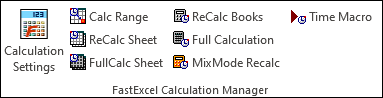 FastExcel Calculation Manager