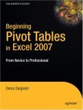 Beginning Pivot Tables