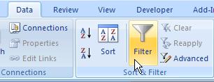 Excel AutoFilter 02