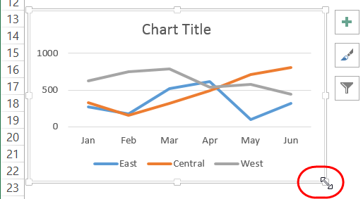 How to make interactive excel charts insert line chart ccuart Image collections