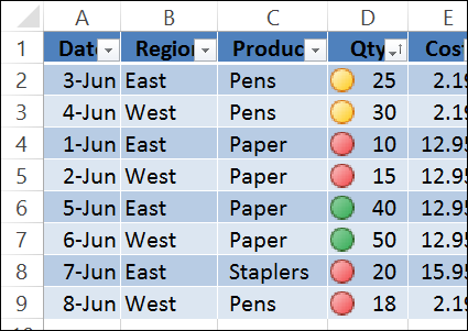 How to Sort Lists in Excel