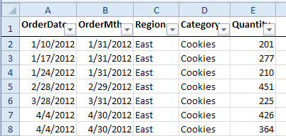 Excel Select Date With Scroll Bar