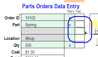 how to hide formula in excel but allow input