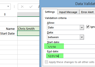 data validation date range