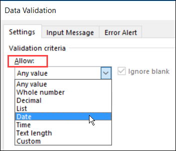 a60dc08acd5a3 data validation dialog box Allow
