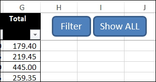 delete rows in criteria table