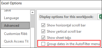 group dates option