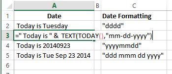 Combine Cells in Excel