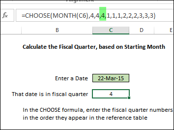 Excel Fiscal Year Calculations