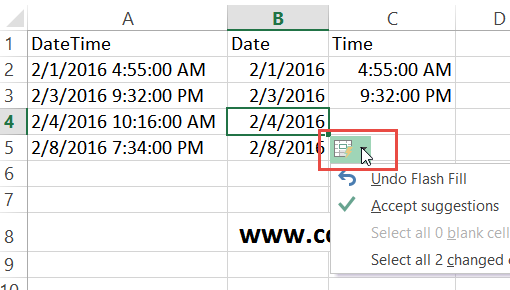 how to add date and time in excel