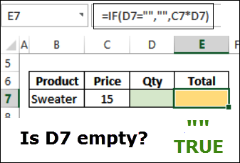 Excel IF Function and IF Example