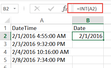Excel Date Function Examples