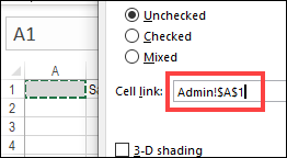 cell link added