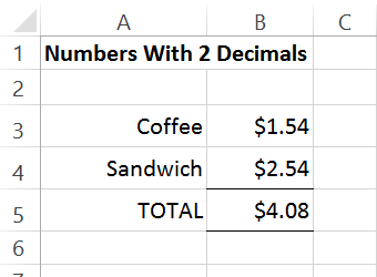 Excel search functions