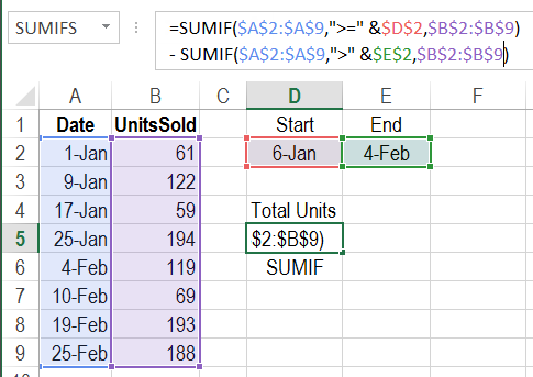 Auto calculate feature in excel 2007 10