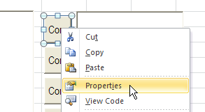 how to use arrows to move square in excel