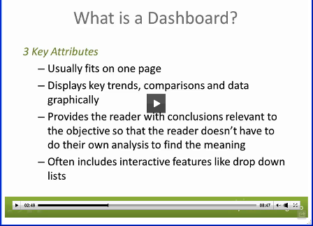 dashboard review session 1  video