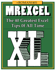 40 Excel Tips book