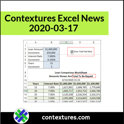 contextures newsletter info