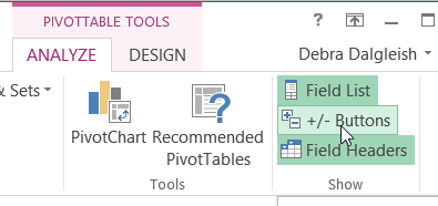 How to expand and collapse pivot table fields show expand collapse buttons publicscrutiny Image collections