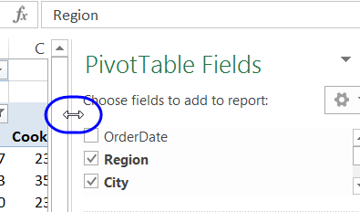 How To Use The Excel Pivot Table Field List