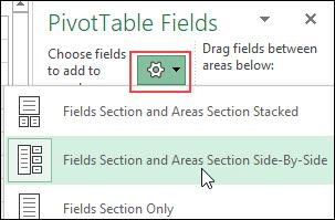sort order for pivot table fields