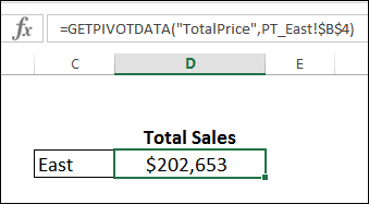 getpivotdata formula start