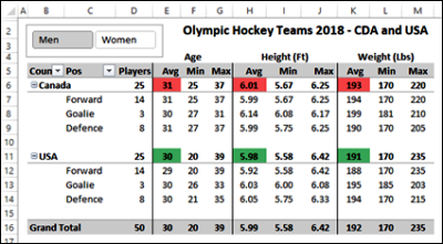 hockey player data