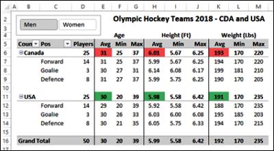 hockey player data