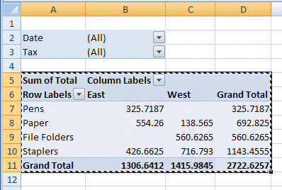 paste value vba