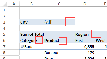 How to Use Excel Pivot Table Label Filters