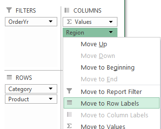 Excel Pivot Table Protection