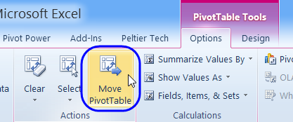 move pivot table