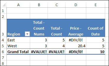 calculate variance