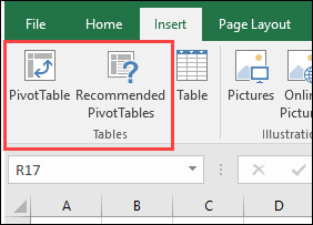 How to Set Up an Excel Pivot Table