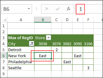 custom number format shows text