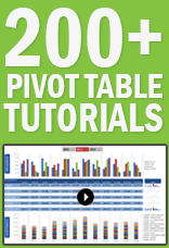 xtreme pivot tables