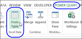 Excel Power Query Combine Tables