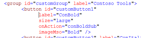 Excel Ribbon Custom button code