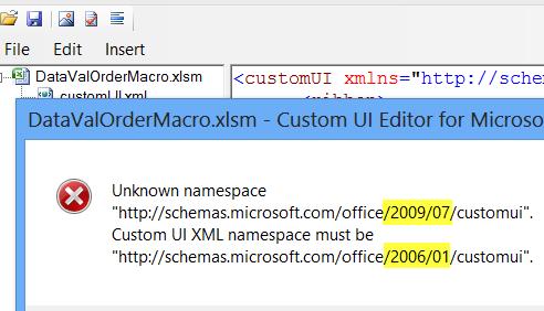 Excel Ribbon - Add Custom Tab