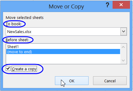 copy worksheet