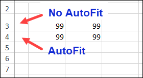 manually adjusted row does not autofit