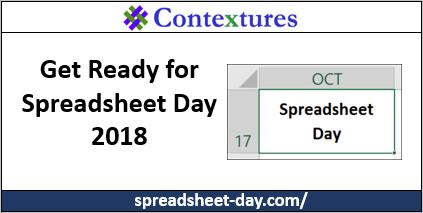 spreadsheet day