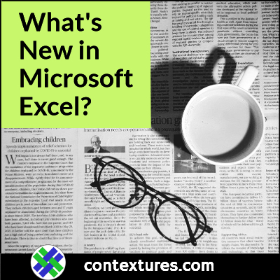 What's New in Microsoft Excel