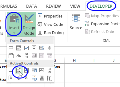how to add fill in boxes in pdf