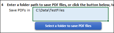 file path for the folder